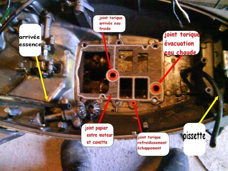 joint bloc moteur - hors bord - m u00e9canique