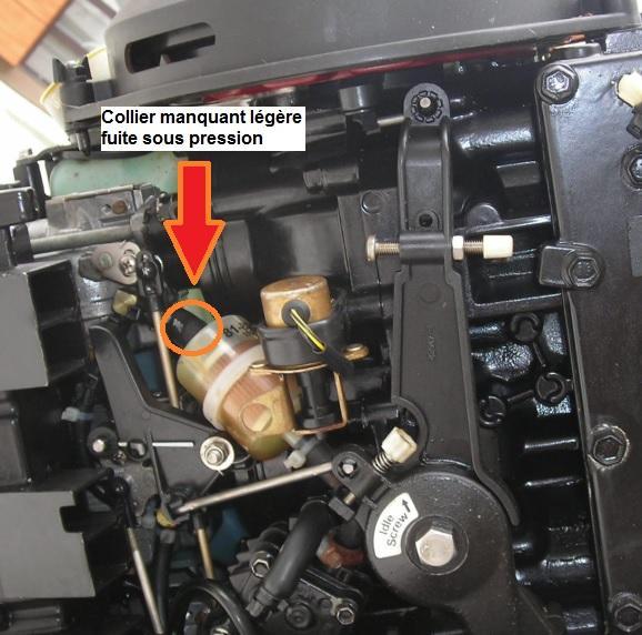 Prise d'air moteur essence