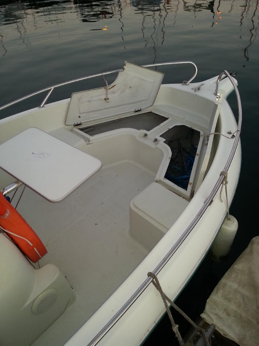 vends cap camarat 555 open   115cv mariner  ensemble 1996