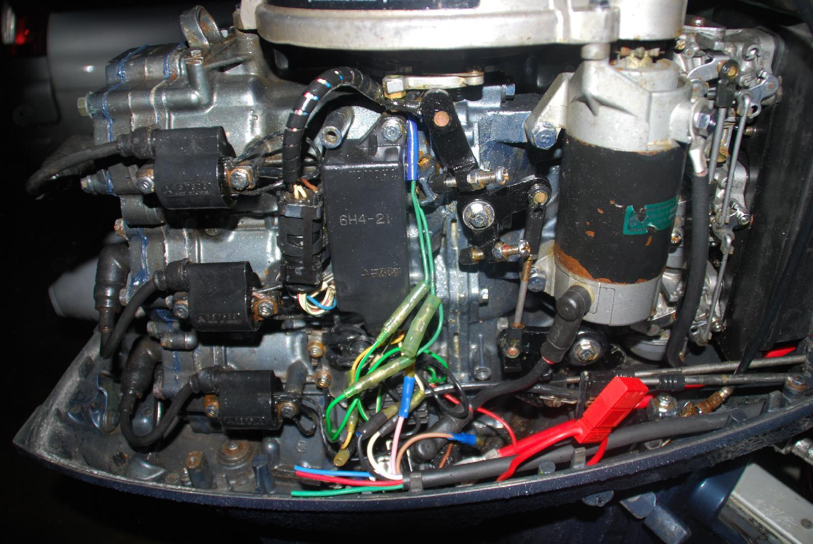 boitier additionnel moteur hors bord  boitier cdi adaptable johnson evinrude 582285 hors bord