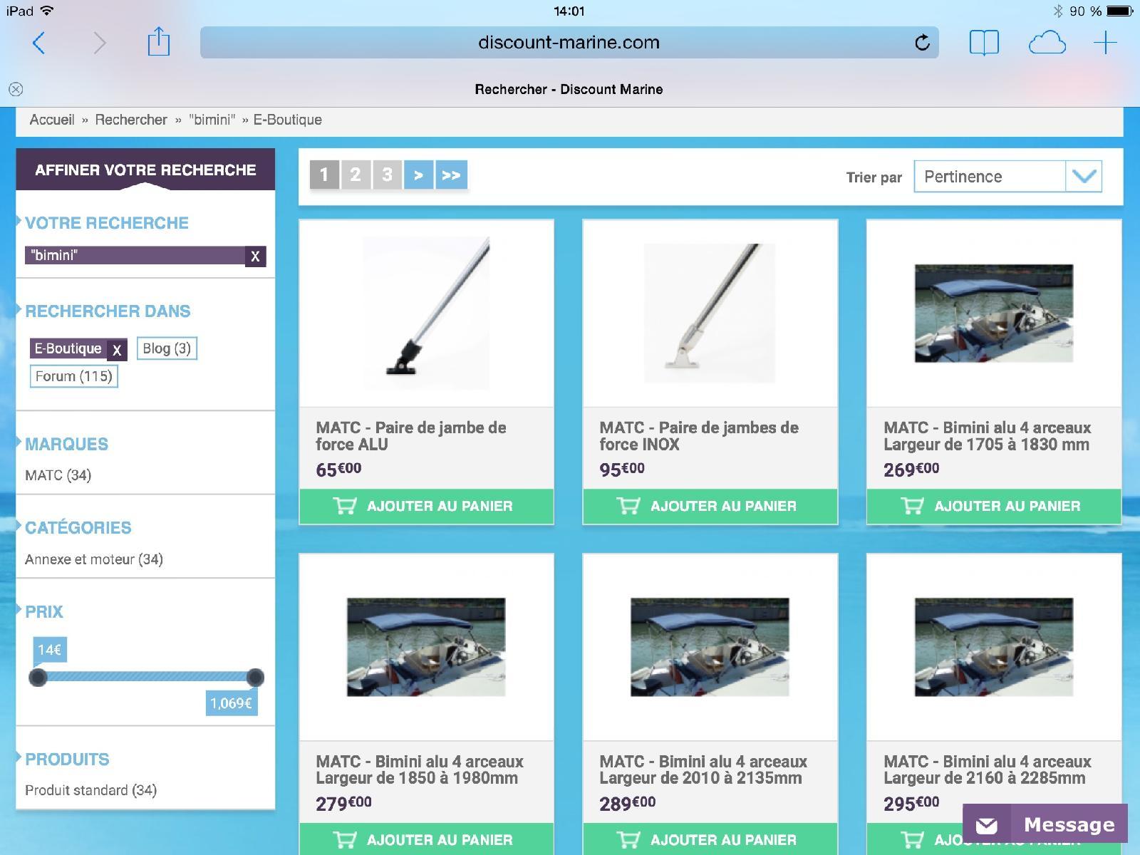 Messages priv s discount marine - Sites discount en ligne ...